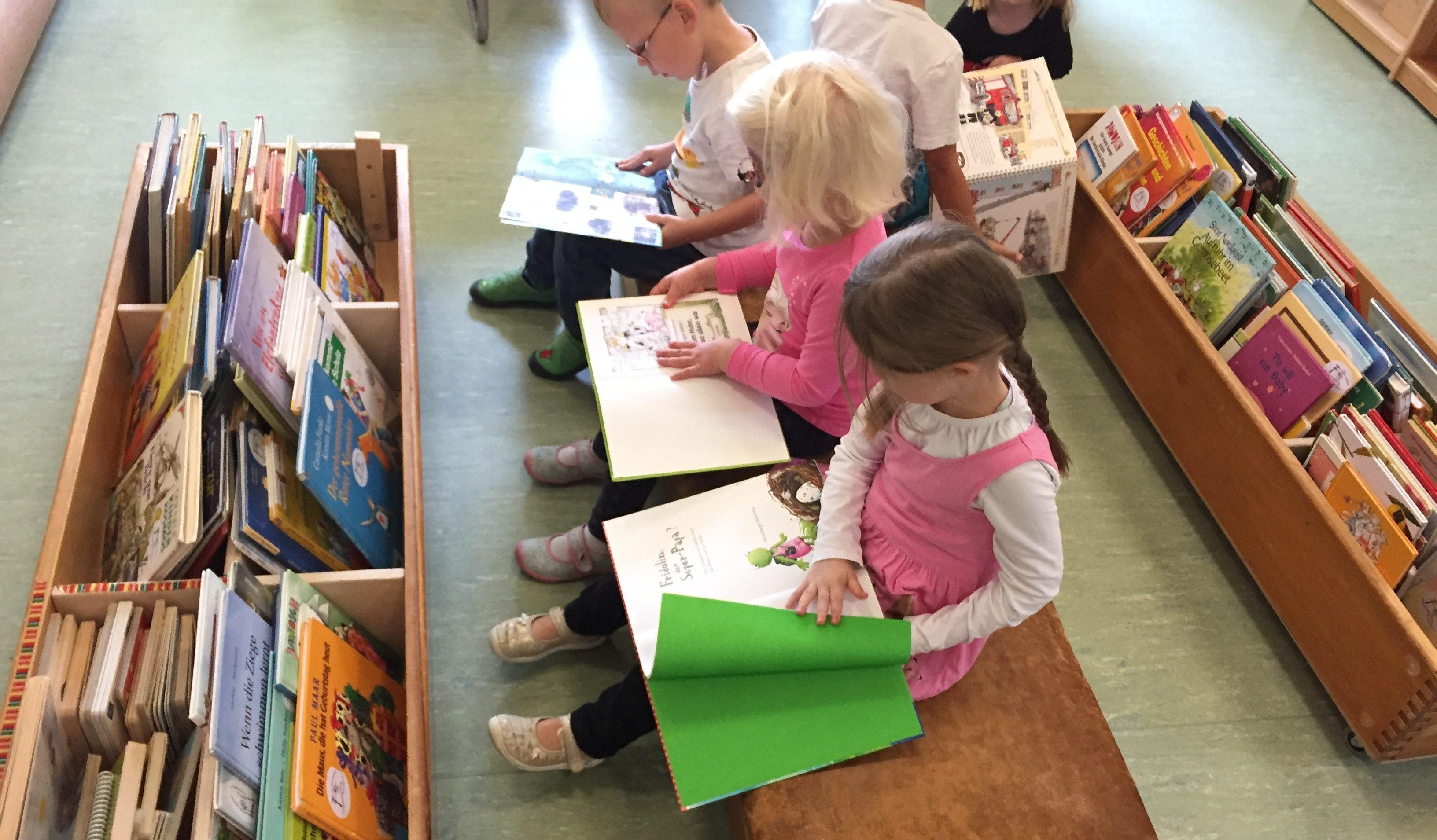 Kindergarten Bücherei